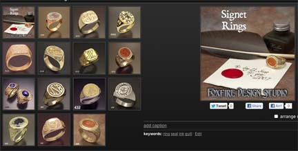 Visit our Signet Ring Gallery