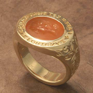 Personal ring of                Foxfire's owner, with Ancient Janus seal